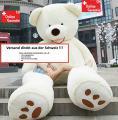 Plüsch Eisbär Teddy Bär Plüschbär Weiss Geschenk 200cm Geschenk Weihnachten