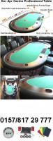 Pokertisch xxl für bis zu 10 personen