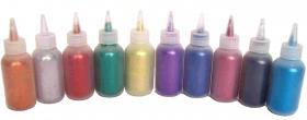 Polyglitter verschiedene Farben 15ml