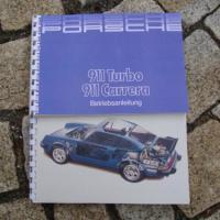Porsche 911 3.2 Carrera / 3.3 Turbo Betriebsanleitung 1987