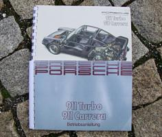 Porsche 911 3.2 Carrera / 3.3 Turbo Betriebsanleitung 1988