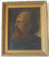 Porträt Ölgemälde Von J.Reinitz 1867
