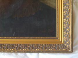 Foto 4 Porträt Ölgemälde Von J.Reinitz 1867