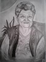 Foto 6 Portrait Zeichnung