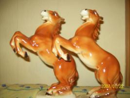 Porzellanpferde Pärchen