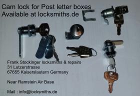 Post Mailbox Locks available at locksmiths.de