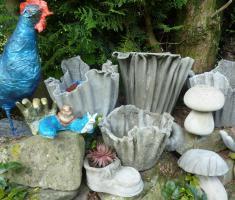Foto 4 Powertex - Malen auf Leinwand oder Figuren/Skulpturen für Haus und Garten
