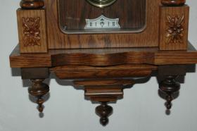 Foto 4 Prachtvolles alte Wanduhr mit div. Verzierungen-