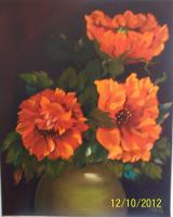 Foto 5 Preiswerte Ölbilder auf Leinwand gemalt!