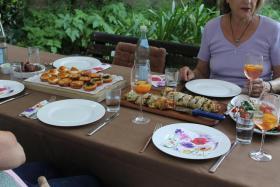Foto 14 Privates Dinner in Kaiserslautern....Genießer unter sich...