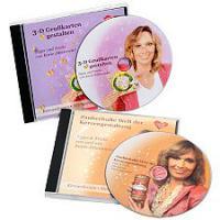 Professionelle DVDs zur Anleitung von Grußkarten- & Kerzengestaltung 2tlg.