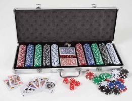 Foto 2 Profi Poker Set( 500 Chips) im Alukoffer   http://kauf-dich-blau.jimdo.com/