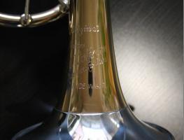 Foto 4 Profiklasse Konzert - Trompete A. Wolfram Markneukirchen, Goldmessing mit 2 Überblasklappen