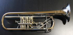 Foto 11 Profiklasse Konzert - Trompete A. Wolfram Markneukirchen, Goldmessing mit 2 Überblasklappen