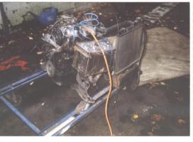Prototyp Wasserstoff-Generator