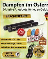 Puffz- Elektrozigaretten - 10% Rabatt