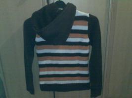 Foto 2 Pullover braun orange größe M