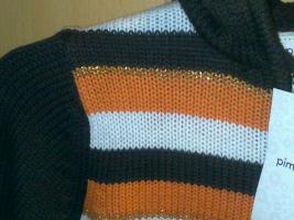 Foto 3 Pullover braun orange größe M