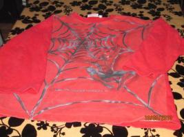 Pullover rot für Junge Größe 152/158