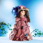 Puppe *Stefanie* ca.50 cm Hoch mit Porzellankopf