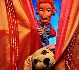 Puppentheater Puppenspieler Puppenbühne
