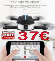 Quadcopter JJRC H37 Mini Baby Elfie Wifi nur 37 € frei Haus