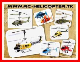 RC-Hubschrauber Helicopter ab € 8,50 – versandkostenfrei