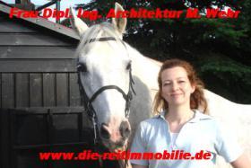 Fachmaklerin Reitanlagen Frau Dipl. Ing. Architektur Martina Wehr