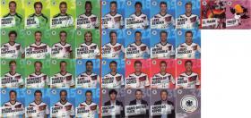 REWE WM 2014 – komplettes Album mit allen 34 normalen Karten