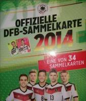 REWE WM 2014 - 20 Tüten / Sammelkarten (neu / ovp)