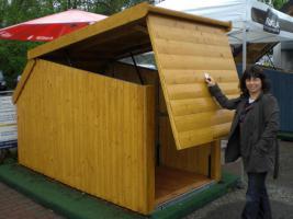 rogla kleingaragen motorradgaragen kleingaragen. Black Bedroom Furniture Sets. Home Design Ideas