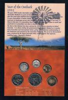 Foto 2 ROYAL AUSTRALIAN MINT Six Coin Uncirculated Set 2002 Bankfrisch Prägefrisch .
