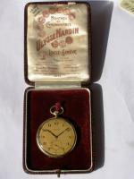 RRR Ulysse Nardin 14k Gold Chronometer Taschenuhr