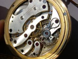 Foto 2 RRR Ulysse Nardin 14k Gold Chronometer Taschenuhr