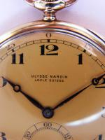 Foto 5 RRR Ulysse Nardin 14k Gold Chronometer Taschenuhr