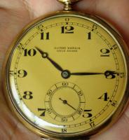 Foto 8 RRR Ulysse Nardin 14k Gold Chronometer Taschenuhr