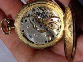 Foto 13 RRR Ulysse Nardin 14k Gold Chronometer Taschenuhr