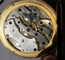 Foto 14 RRR Ulysse Nardin 14k Gold Chronometer Taschenuhr