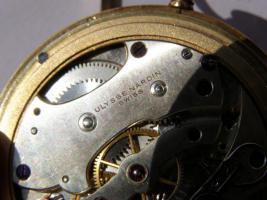 Foto 17 RRR Ulysse Nardin 14k Gold Chronometer Taschenuhr