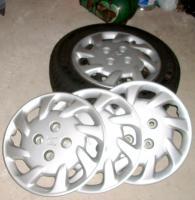 Rad - Zierblenden für Honda 4 Loch