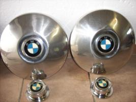 Foto 3 Rarität!!! BMW 1602 Chrom-Radblenden 70er