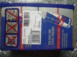Red Bull Energy Drink - Shots - ORIGINAL 24 Stück a 60ml