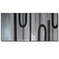 Reflexion - Acrylgemälde Acryl Bild - 50x100cm
