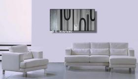 Foto 2 Reflexion - Acrylgemälde Acryl Bild - 50x100cm