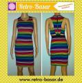 Regenbogen Stretch Kleid / 23€ VERSANDKOSTENFREI!