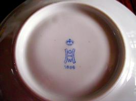 Foto 8 Reichenbach Porzellan Mokkaservice O.H.W , Form 1000, Mokka, Kaffee, Geschirr