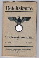 Reichskarte, Verkehrskarte von Afrika, 70 x 105 cm