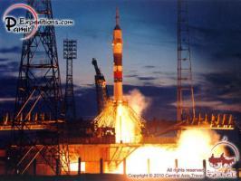 Reise zum Kosmodrom Baikonur