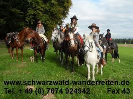 Foto 8 Reiten, Reitferien, Schwarzwald-Wanderreiten Todtmoos Au