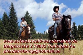 Reitferien im Schwarzwald - Wanderreiten ab Todtmoos Au